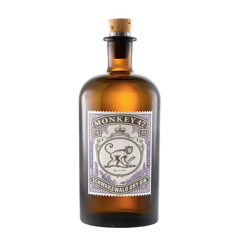 Gin Monkey 47 Dry - Black...