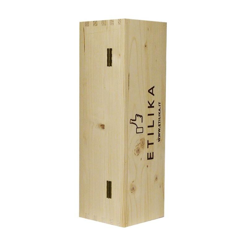 Cassetta di legno 1 Bottiglia