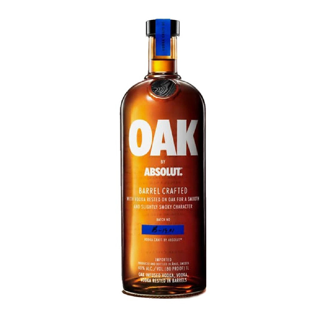 Vodka Absolut Oak Barrel...